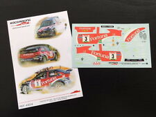 DECAL 1:43 FORD ESCORT WRC #3 TXUS JAIO / DAVID MORENO - RALLY NAVARRA 2000