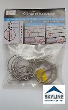 Hall hook | Slate Repair | Slate Hook | 10 Pack with Hookpull | Roof