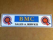 BMC Rosette Classic Retro Car Sales & Service Banner 1 off 1220mm 4ft wide