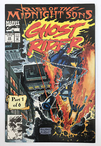 Ghost Rider #28 - First Midnight Sons & Lilith - Marvel Comics