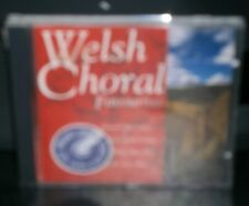 VARIOUS ARTISTS / CHOIRS - WELSH CHORAL FAVOURITES - CD ALBUM