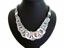 Silver Plated Statement Beauty Costume Necklaces & Pendants