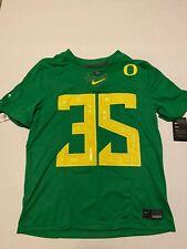 Oregon Ducks #35 NIke Jersey 2019 Stitched Men's Size: Large NWT