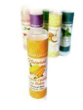 Orange Cream Lip Balm - All Natural Handmade with Orange & Vanilla Taste & Spf