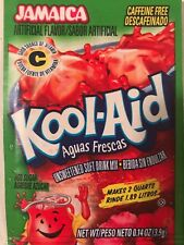 10 RARE* Kool Aid Drink Mix JAMAICA Combine Shipping Available under guidelines
