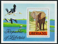 Elephant Mint NH Souvenir Sheet Liberia #C213