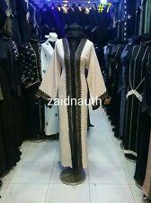 New open front abayas/dress/islamic wear/saudi women dress.size 54.56.58.MAY2017