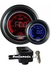 Ford Fiesta ST180 52mm Prosport EVO Boost Gauge BAR and fitting adaptor RD BL