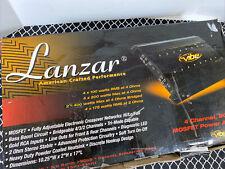 New listing Lanzar Vibe 430 800 Watt 4 Channel Mosfet Power Amplifier New Old Stock