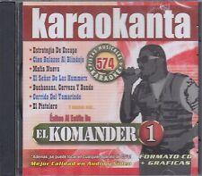 El Komander Exitos al Estilo Karaoke Pistas Musicales & Karaoke
