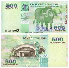Tanzania 500 Shillings 2003 P-35 Banknotes UNC