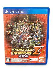 Ps Vita PLAYSTATION sony Dai-3-Ji Super Robot Taisen Z Jigoku-Hen Versión Japan
