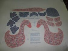 """CALICO MOTHER GOOSE Cotton Fabric PANEL for 20"""" Stuffed Doll"""