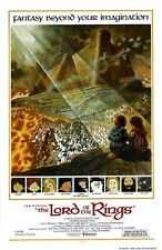 Lord Of The Rings movie poster : 11 x 17 inches : Animated Version