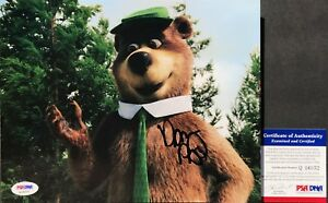 SUPER FUNNY!! Dan Aykroyd Signed YOGI BEAR 8x10 Photo #1 PSA/DNA
