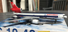 Dragon Wings 1/400 Northwest Airlines DC10-40 Cat No.55209B N141US 'Chrome' New