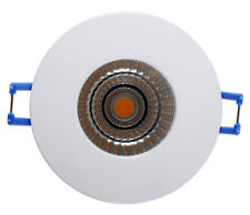 SPOT A ENCASTRER BLANC IP65 RT2012 (LAINE DE VERRE DÉROULÉE), LED 9W 230V, 5000K