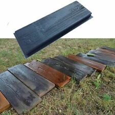 Simulation Of Wood Grain Wooden Board Concrete Stone Mould Garden Stepping Stone