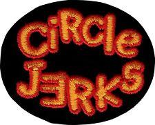 19071 Circle Jerks Logo Punk Rock Music Band Hardcore Embroidered Iron On Patch