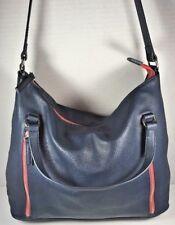 Levi's Blue Vegan Faux Leather Tote Shoulder Bag