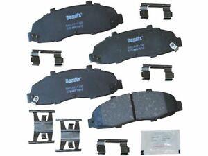 For 2002 Lincoln Blackwood Brake Pad Set Front Bendix 71896PY