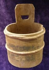 Old wooden vintage bucket/container