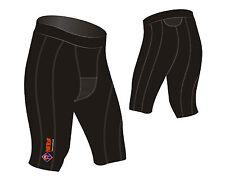 Pantaloncini da uomo neri per palestra, fitness, corsa e yoga