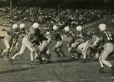 Photo Parc des Princes Paris Football Américain 1953