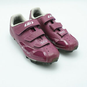Louis Garneau Women's Multi Air Flex Bike Shoe Magenta Size 39 USA 8