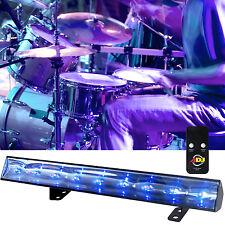American DJ ADJ ECO UV Bar 50 IR 9 x 3-Watt Ultra Violet Party Black Light