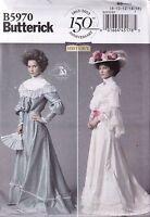 Butterick Sewing Pattern Misses' Victorian Edwardian Top Skirt  Belt 8- 24 B5970