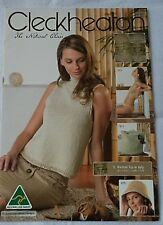 Cleckheaton  Ladies Crochet and Knitting Patterns  in 4 and 8 ply Cotton