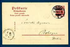 GERMANY - GERMANIA REICH - 1902 - CARTOLINA POSTALE. Destinaz.Bologna. R715