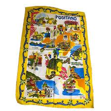 NWOT, Positano Italy Souvenir Travel Tourist Kitchen Towel