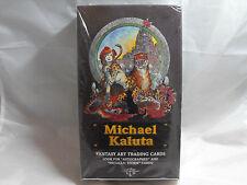 MICHAEL KALUTA FANTASY ART TRADING CARDS SEALED BOX OF 36 PACKS