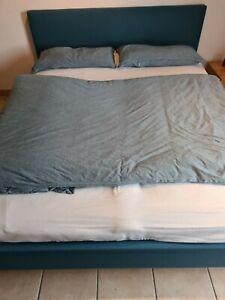 RUF Doppelbett Liegefläche 160x200 cm, Lattenrost, Bettkasten