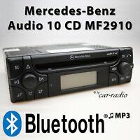 Mercedes Audio 10 CD MF2910 Bluetooth Autoradio MP3 Audio-Streaming RDS CD Radio
