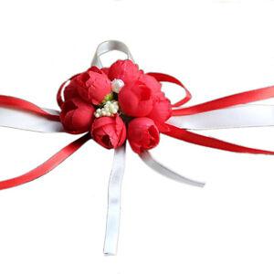 Beautiful Wrist Corsage Bracelet Bridesmaid Sisters Hand Flowers Wedding Part TM