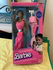 Vintage African American Barbie Doll Twirly Curls Barbie, 80's, Mattel , New ,V