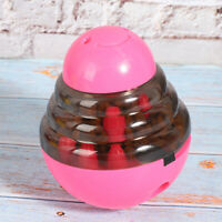 Pets Dog Puppy Tumbler Feeder Leakage Food Dispenser Treat Ball Interactive Toy