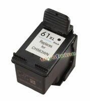 1 noir rempli Cartouche d'encre pour HP Deskjet 1000 61XL CH563WN 1050 2050 3050