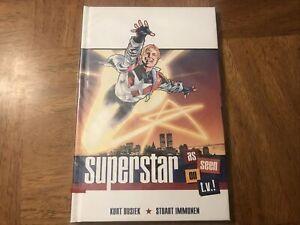 Superstar As Seen on T.V.! Kurt Busiek New Hardcover Graphic Novel 2011 IDW