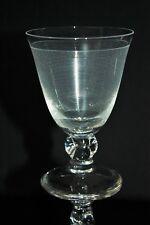 Verre à vin n°4 en cristal de Daum modèle Orval