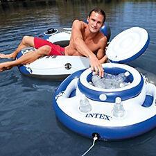 Intex Mega Chill Floating Cooler Drink Holder Lid Pool Toy Float Rafts