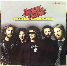 APRIL WINE first glance LP Mint- 1C 038 1575241 UK / EEC Stereo 1979 Record