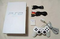 PS2 CERAMIC WHITE Console SCPH-50000 CW japan Playstation2