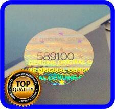 2511 Hologramm Etiketten mit Seriennummern, Siegel,Garantie, Aufkleber rund 15mm