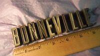 Pontiac Bonneville Tail Panel Letter Set Emblems Vintage 1961 #40810983-92