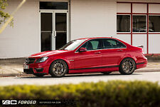 Mercedes-Benz C63 AMG BC Forged 20 Inch Monoblock Custom Wheel Package Concave
