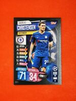Carte panini match attax 2019 2020 champions league CHRISTENSEN CHELSEA